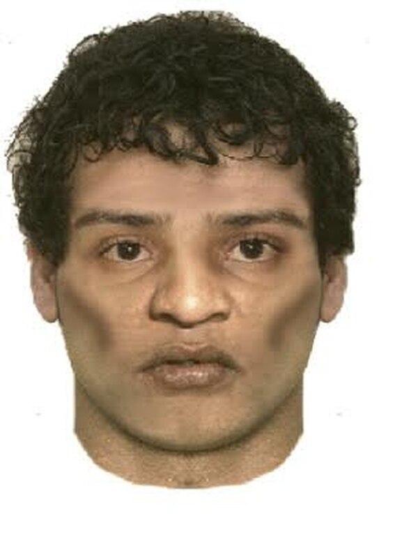 Retrato de uno de los sospechoso de matar a Gerardo Cruz.