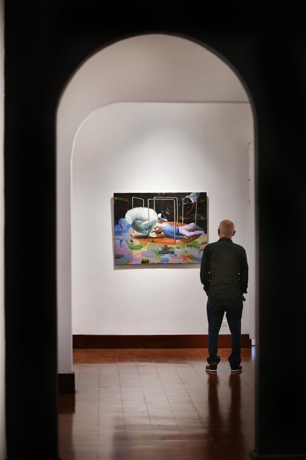 Son 51 pinturas las que componen la exposición