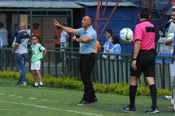 Adrián Leandro durante el partido en que Cartaginés derrotó a Pérez Zeledón 2-0. Fotografía de: Diana Méndez