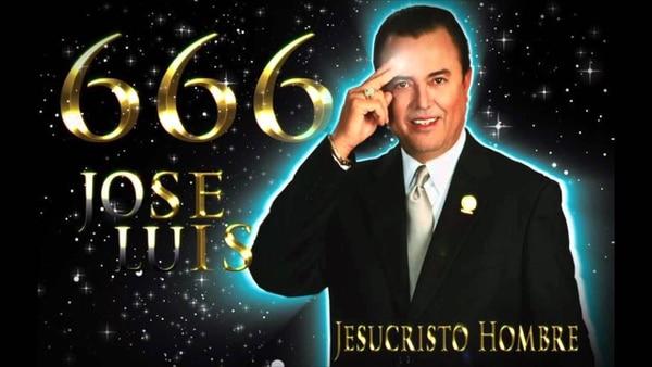 José Luis Miranda en sus mejores tiempos. Él era conocido como Jesucristo Hombre por sus fieles seguidores. Captura de pantalla Youtube