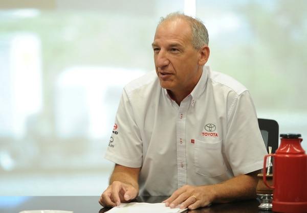 Silvio Heimann, nuevo director general de Purdy Motor, explicó que la digitalización de la empresa es una de las apuestas de cara al futuro. Foto: Melissa Fernández