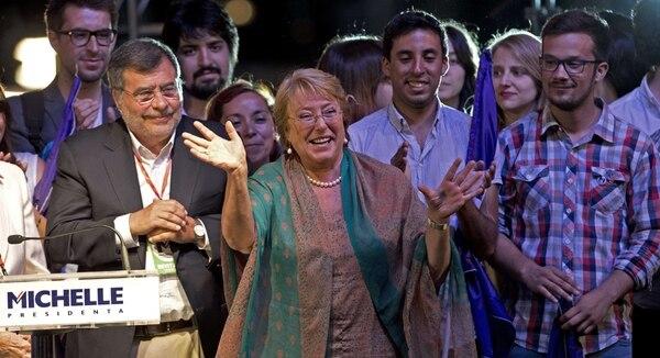 Michelle Bachelet fue electa por los chilenos como la próxima gobernante de ese país a partir del 2014 y hasta el 2018.