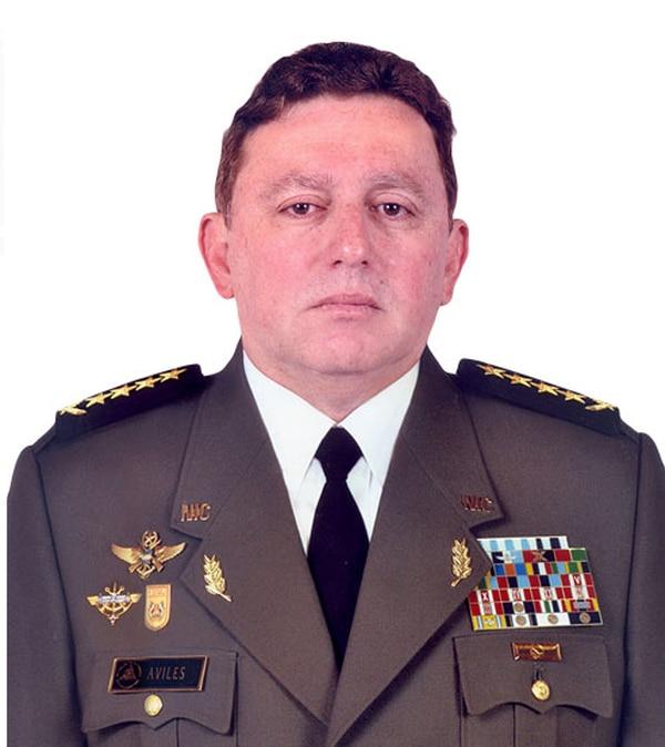 El general Julio César Avilés, comandante en jefe del Ejército de Nicaragua.