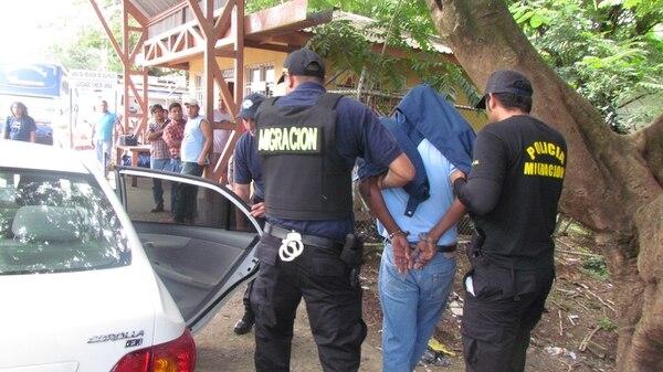El hombre apellidos Junes Miranda fue detenido en noviembre de 2012 por ayudar a ingresar al país a extranjeros con impedimento de entrada