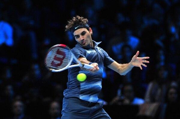 Roger Federer vino de atrás y logró vencer a base de experiencia al argentino Juan Martín del Potro.   AFP