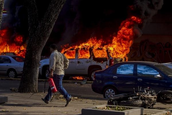 En el país venezola, las protestas con constantes y muchas veces reprimidas. EFE/Miguel Gutiérrez