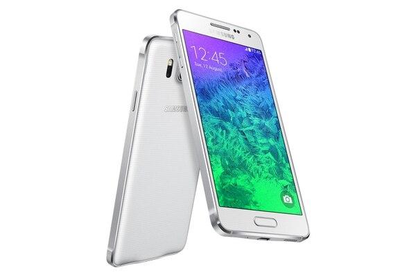El nuevo Galaxy Alpha de Samsung