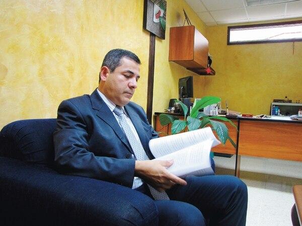 En setiembre del 2012, cuando era fiscal adjunto en Cartago, Edwin Retana se postuló para el cargo de director de la Policía Judicial. | ARCHIVO.