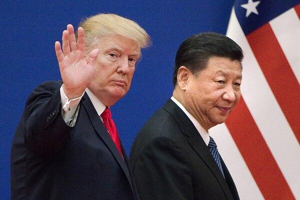 Hace solo dos semanas, el presidente Donald Trump y su homólogo chino, Xi Jinping, decretaron una tregua en la guerra comercial que habían estado librando durante meses. AFP