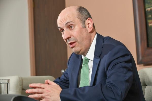 Rodrigo Cubero, presidente del Banco Central. Foto: Jorge Castillo