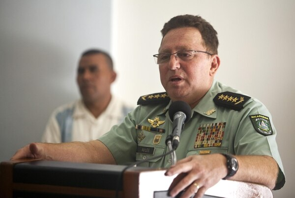 El jefe del Ejército de Nicaragua, general Julio César Avilés, dijo que mantendrán el patrullaje en las plataformas marítimas del país, según el diario La Prensa en una nota relacionada con la denuncia de Costa Rica.
