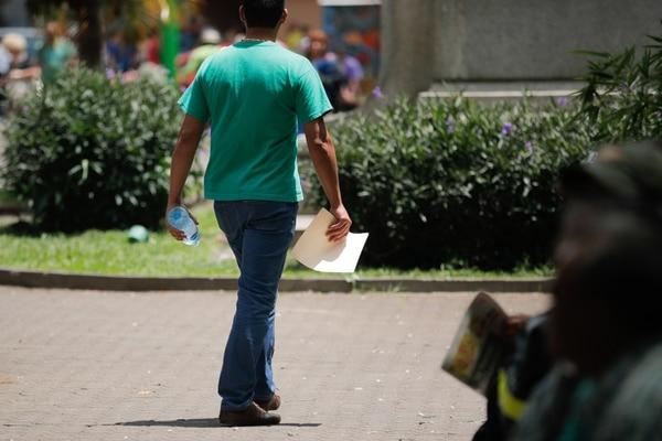 22/8/2019. San José. Recorrido por el centro de San José. Foto Jeffrey Zamora