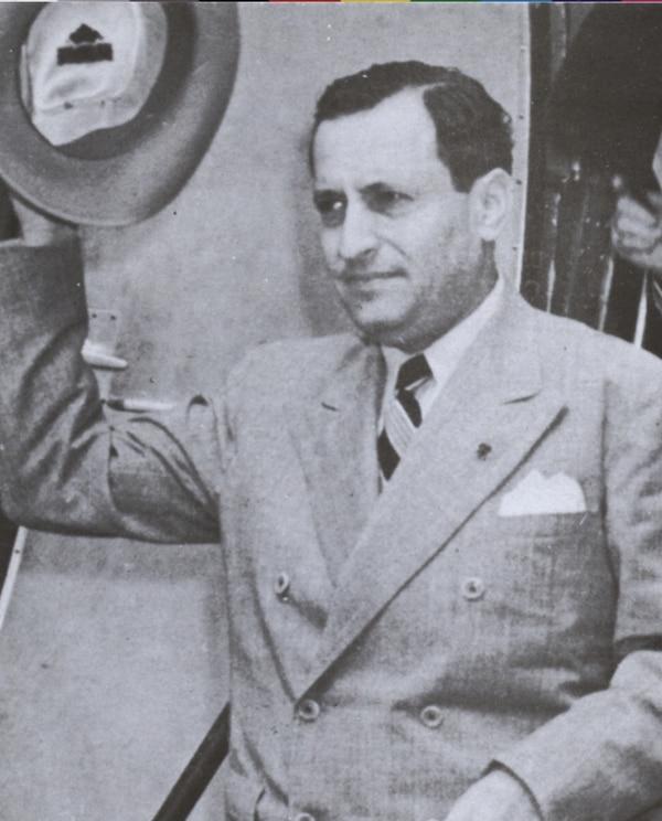 Calderón Guardia regresó de México en 1958.   ARCHIVO.