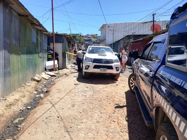 El crimen ocurrió en este caserío en Guadalupe de Goicoechea. Foto: Yeryis Salas.