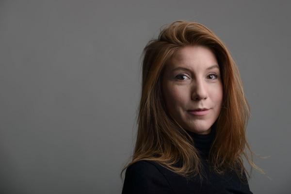 La periodista sueca Kim Wall fue asesinada mientras trabajaba. AP