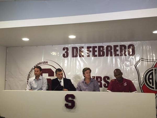 Saprissa anunció este lunes el fogueo ante el River Plate.