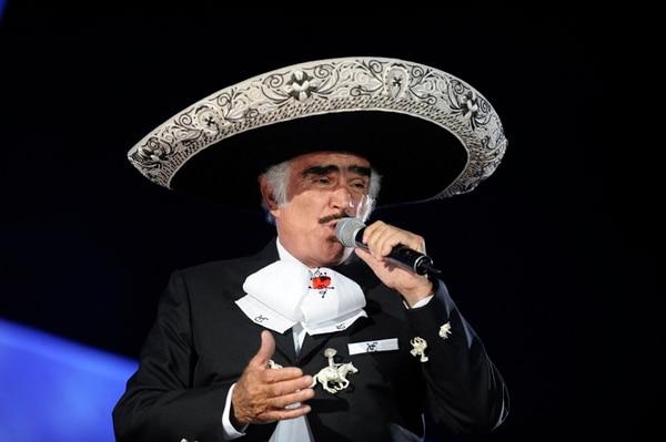 Vicente Fernández está casado con Cuquita, con quien tuvo cuatro hijos. Foto: Sony Music