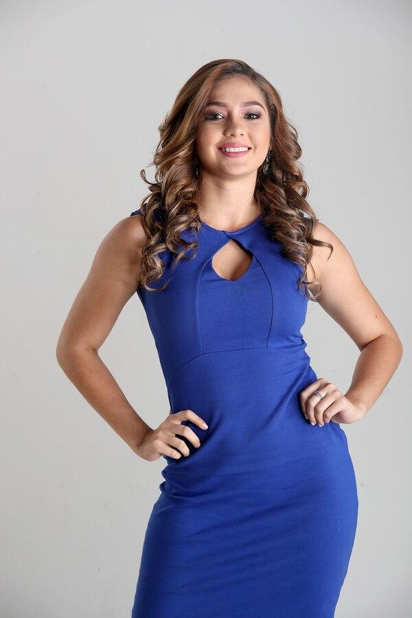 Keissy Zumbado aspira al Miss Costa Rica 2018. Fotografía: John Durán.