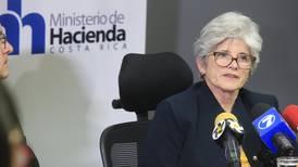 Ministra de Hacienda: Fallo de Sala IV 'es una excelente herramienta contra la evasión'