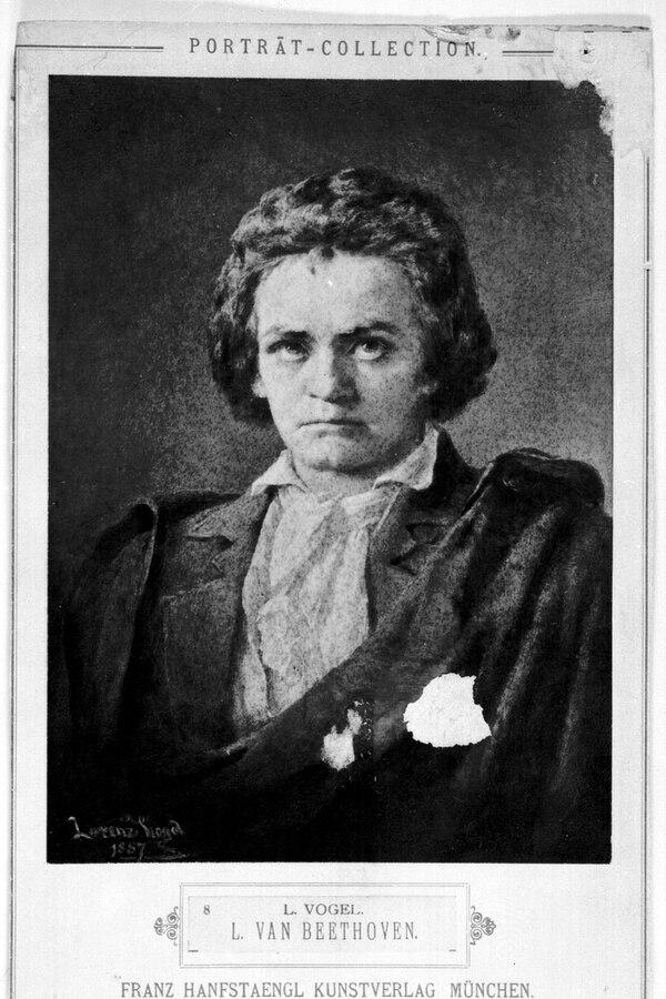 Ludwing Van Beethoven será homenajeado por la Orquesta Sinfónica Nacional en su temporada oficial. Foto: Bergen Public Library/Wikicommons.