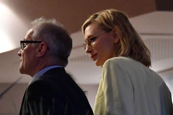 El presidente de Cannes, Thierry Fremaux, se ha mantenido tajante en defender