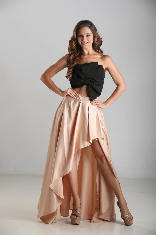Raquel Castro aspira al Miss Costa Rica 2018. Fotografía: John Durán.