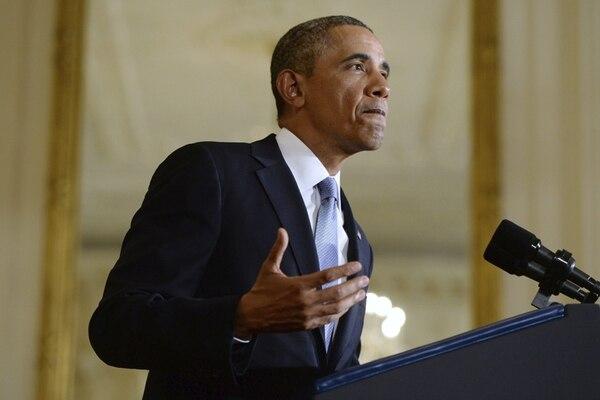 Barack Obama defiende la prórroga de las ayudas económicas. | EFE