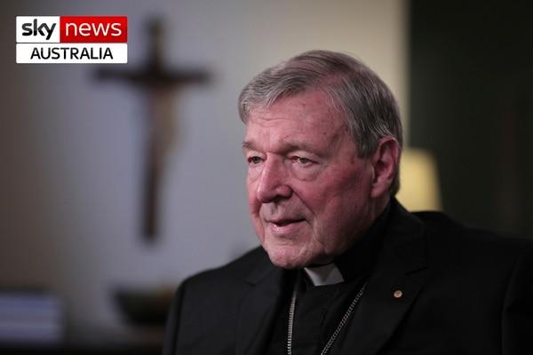 La entrevista de Sky News al cardenal George Pell se difundió este martes 14 de abril del 2020.