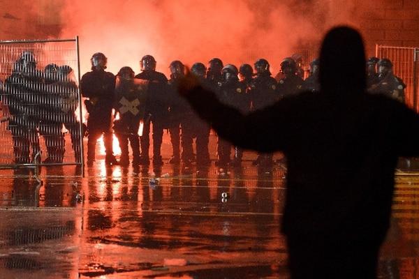 AFP.La fiesta fue organizada a través de Facebook.
