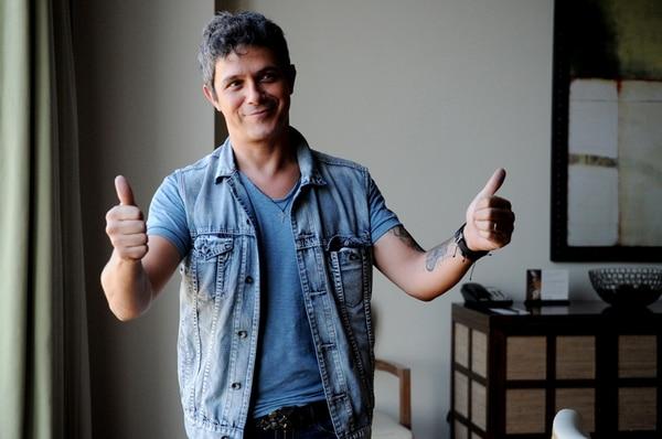 Dulce.Alejandro Sanz estrenó Sirope este año. Marcela Bertozzi.