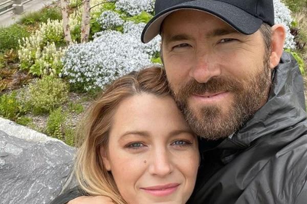 El bromista Ryan Reynolds y su esposa Blake Lively. Foto: Instagram