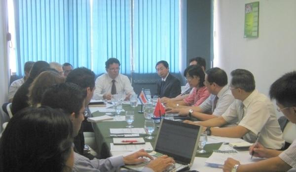 Las reuniones entre los especialistas chinos y las autoridades del Senasa se iniciaron desde hoy. Hay 10 empresas instaladas en Costa Rica que quieren exportar productos pesqueros a China.   SENASA, PARA LN