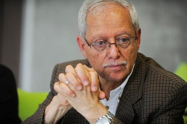 Helio Fallas, ministro de Hacienda