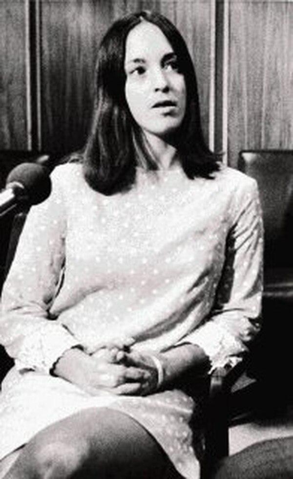 Susan Atkins, fue condenada por ocho homicidios perpetrados con otros miembros de la banda de Charles Manson en 1969, entre ellos la actriz Sharon Tate.