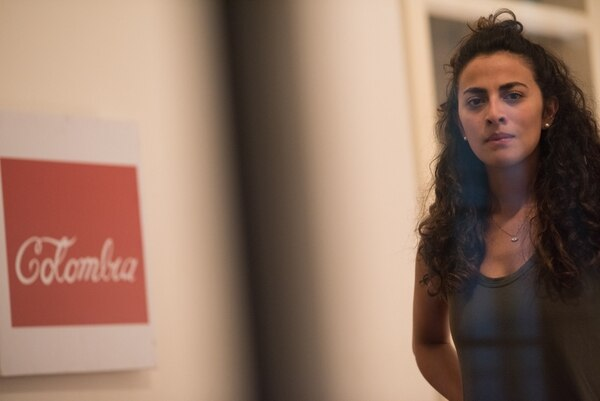 La actriz Juana Arboleda interpreta a Susana, una mujer con una pesada carga familiar. FOTO: Cortesía del Ministerio de Cultura y Juventud.