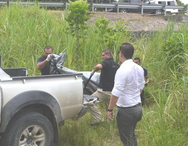 El OIJ se encargó del levantamiento del cuerpo y del respectivo traslado a la Morgue Judicial.