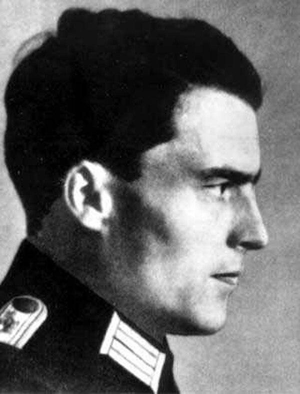 Claus von Stauffenberg fue un coronel de la Wehrmacht y Jefe del Ejército de Reserva de Berlín durante el Tercer Reich. Fue la figura central del plan para ejecutar la Operación Valquiria. Foto: WikiCommons