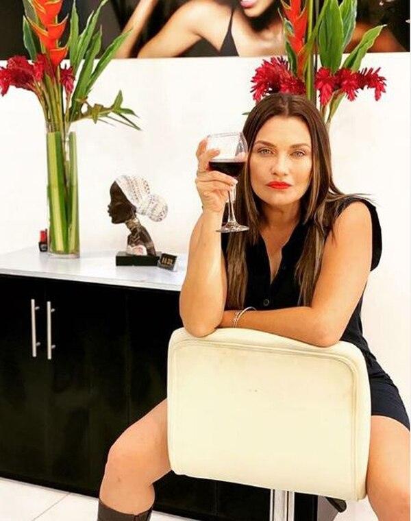 Natalia García ahora es presentadora de Multimedios. Acá, en una imagen relajada, distante de sus recordadas imágenes como sucesera. Foto IG
