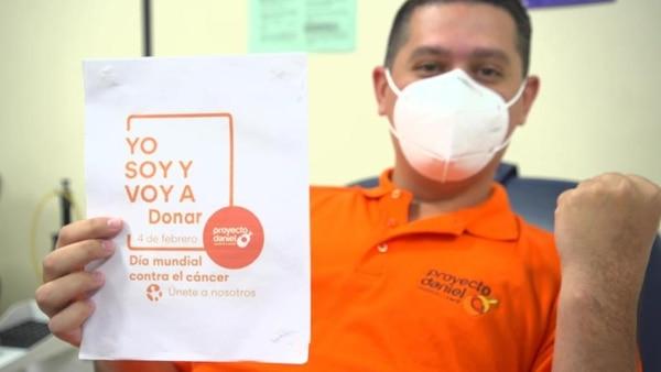 Este Día Mundial contra el Cáncer será aprovechado para pedir a la población donar sangre para jóvenes que lo padecen. Foto: Proyecto Daniel