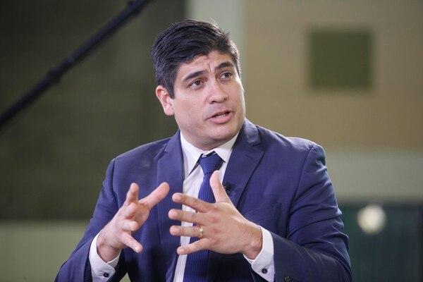 Carlos Alvarado, candidato presidencial del PAC. | ARCHIVO