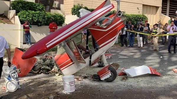 Pilotos argentinos sobrevivieron a un accidente aéreo en Costa Rica