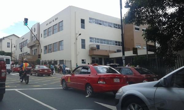 Sequeira murió en el Hospital San Juan de Dios. Foto: Archivo