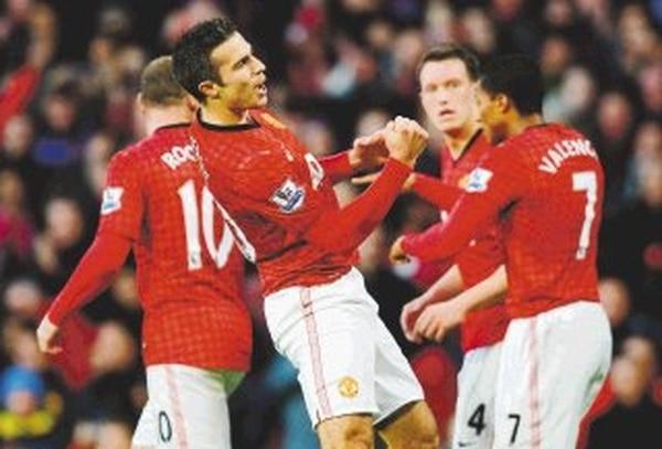 United gana y mantiene ventaja en liga Premier - 1