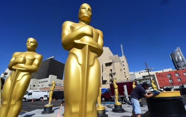 La ceremonia de los Óscar será este domingo 24 de febrero. Foto: AFP
