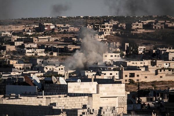 Regimen siro lanzó este martes un ataque aéreo para contrarrestar ofensiva rebelde.