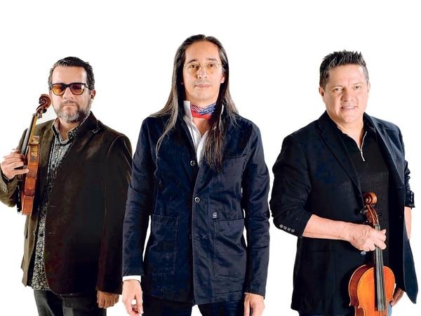 Edín Solís, Ricardo Ramírez y Carlos Vargas 'Tapado' cuentan con cerca de 30 años de trayectoria con la agrupación Éditus.Foto: Diana Méndez.