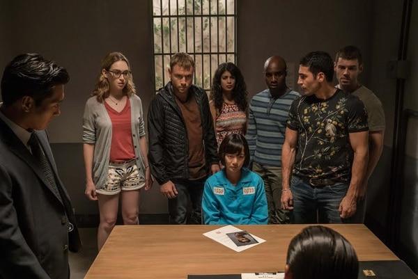 Sense 8 es una serie que involucra a ocho personajes que se pueden comunicar entre ellos de maneras misteriosas.