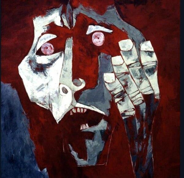 'Napalm' (1976), Oswaldo Guayasamín.