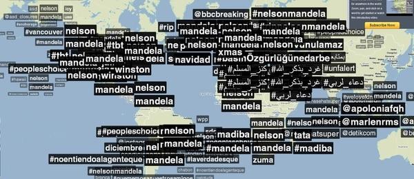 #Nelson, #Mandela y #RIPNelsonMandela son