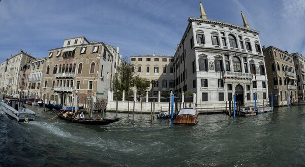 La recepción está prevista en el hotel Aman, de siete estrellas, junto al Gran Canal.